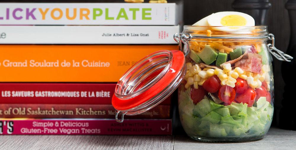 Mason Jar Cobb Salad
