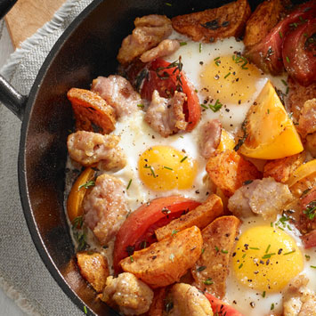 Egg and Bacon Skillet