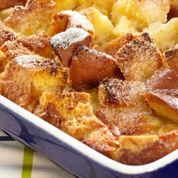 Spiced Banana Bread Pudding