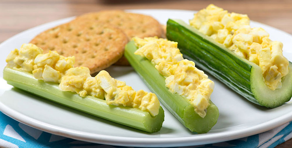 Egg Salad Boats