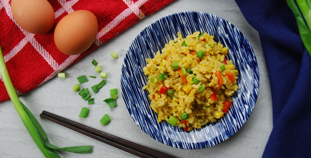 Vegetarian Chinese Fried Rice