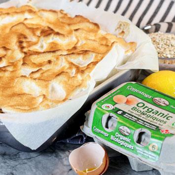 Lemon Meringue Pie Oat Bars
