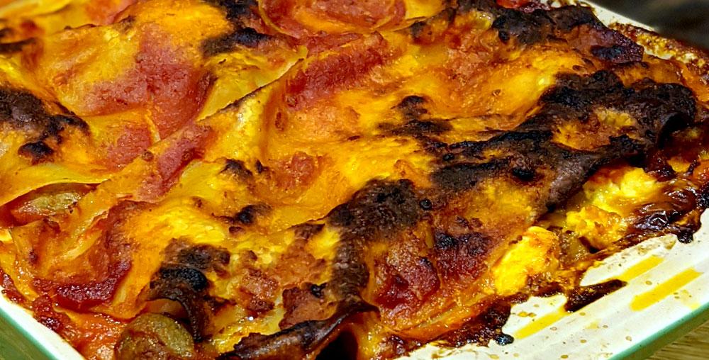 My Mother's Lasagna