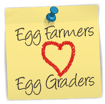 Egg Farmers love Egg Graders