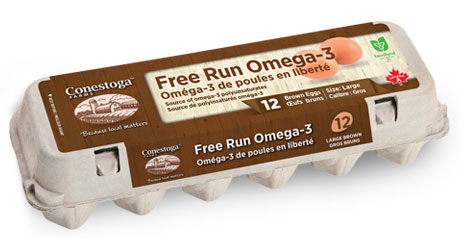 Free Run Omega-3 Brown