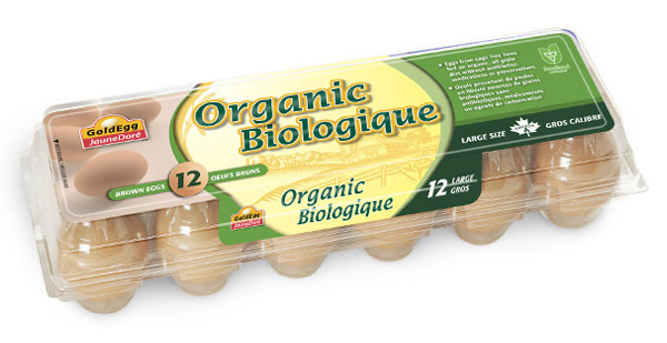 Organic Large Brown Eggs