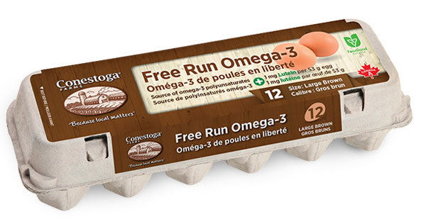 Free Run Omega 3 Brown Eggs