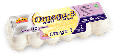 Omega-3 Extra Large White Eggs