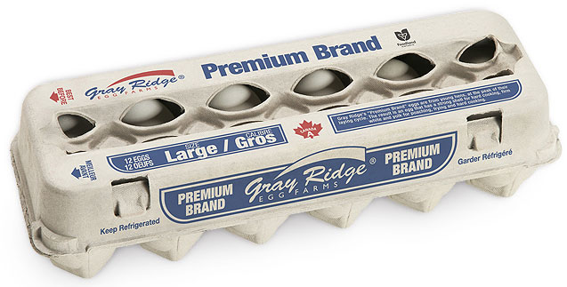 Gray Ridge Premium Large White Eggs