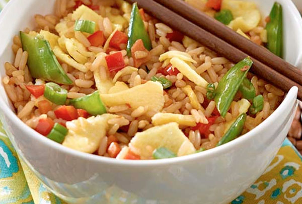 Veggie Egg Fried Rice