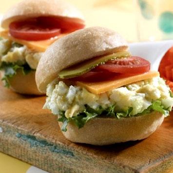 Egg Salad Sliders