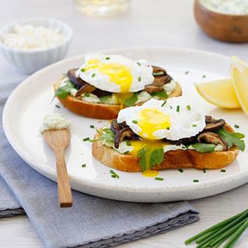 Egg & Mushroom Tartine