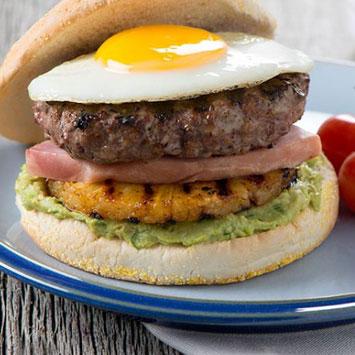 Aloha Dad Burger