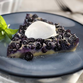 Blueberry Clafouti