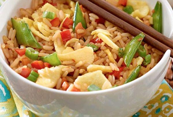 Veggie Egg Fried Rice